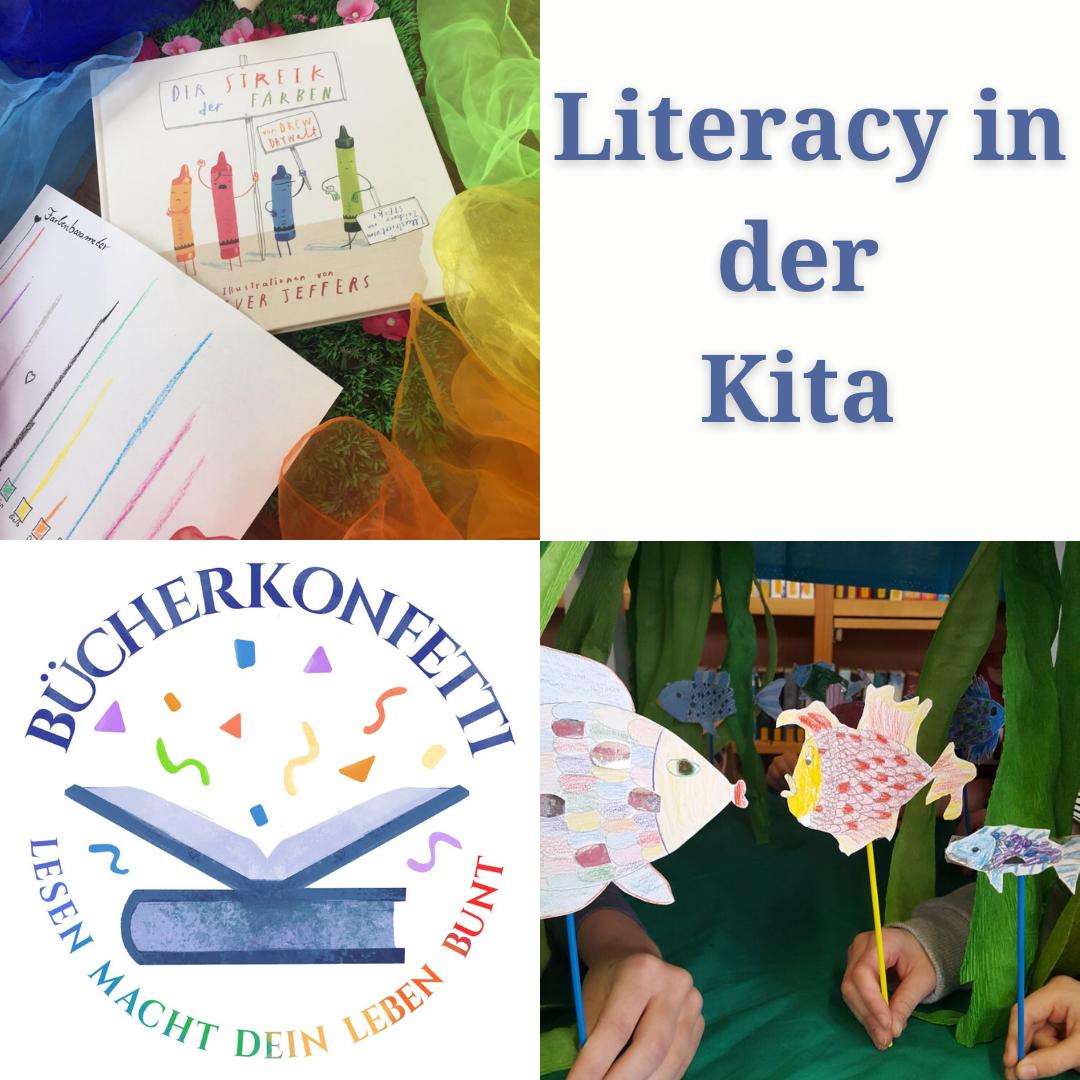 Literacy – Literaturprojekte für die Kita